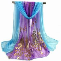 SHARE & Get it FREE | Peacock Gilding Color Block ScarfFor Fashion Lovers only:80,000+ Items·FREE SHIPPING Join Dresslily: Get YOUR $50 NOW!