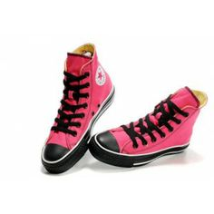 081b71dd0429 ALL STAR DOUBLE TONGUE HI Pink High Top Converse