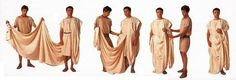 Men's Toga - for Reiss' GR toga party Diy Toga, Greek Toga, Greek Dress, Greece Party, Roman Toga, Nativity Costumes, Egyptian Party, Roman Clothes, Toga Party