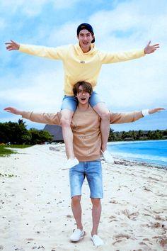 Suho and Sehun EXO