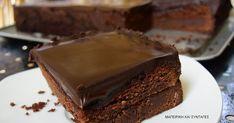 Σοκολατοπιτα θεϊκή!!! Kiss The Cook, Chocolate Sweets, Greek Recipes, Deserts, Cooking Recipes, Favorite Recipes, Cookies, Food Network, Pancake