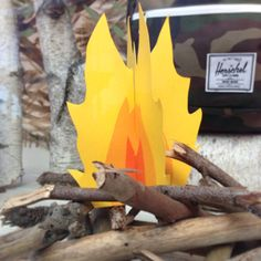 camp fire template | Leif Oh Leif