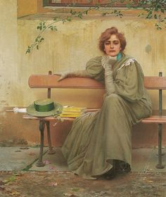 Sogni (also known as Dreams)  Vittorio Matteo Corcos - 1896
