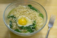 Ten minutes is a little longer than it usually takes to make ramen, but a lot shorter than it takes to make anything else. But this ramen recipe's potential for yolk porn is totally worth the extra time.