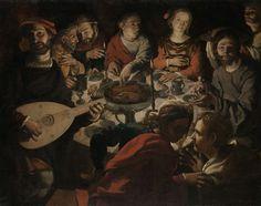 De bruiloft in Kana, Jan Cornelisz. Vermeyen, ca. 1530 - ca. 1532