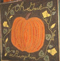 Oh great pumpkin ~ A Camp Wool Design by LeAnn Hodgson