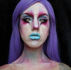 Dramatic Galaxy Makeup Idea | Galaxy Makeup Idea