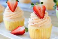 Party Magazine | Strawberry Buttercream Cupcake Recipe