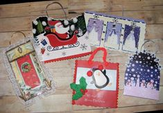 Don't throw out those old Christmas Cards..