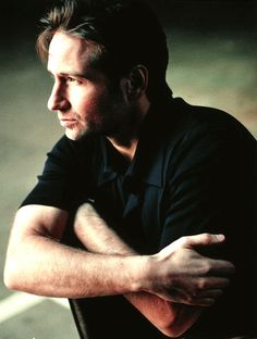 David Duchovny during The X-Files years. I honestly can't see him as anyone BUT Mulder, and I don't want to.