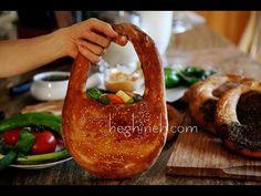 Kaak Bread Recipe - Lebanese Handbag Purse Bread - Heghineh Cooking Show - http://www.bestrecipetube.com/kaak-bread-recipe-lebanese-handbag-purse-bread-heghineh-cooking-show/