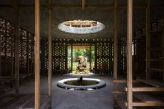 Terra Cotta Studio Information: •Location: Dien Phuong, Dien Ban, Quang Nam Province •Architecture: Tropical Space Co.,Ltd •Architects: Nguyen Hai Long, T...