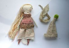 RESERVED LISTING for Maan  13ish handmade rag doll