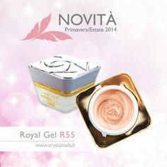 Gel Royal Crystal Nails n° R55