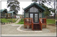 A KOA Kamping Kabin in Santa Cruz - one of my favorite places on earth