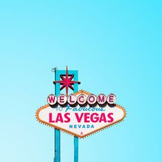 Welcome to fabulous Las Vegas, Nevada. This sign dates back to 1959.