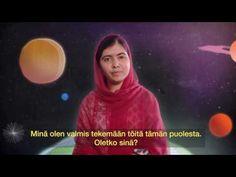 Maailman suurin oppitunti, osa 1 - YouTube Malala Yousafzai, Youtube, Movie Posters, Teacher, Education, Professor, Film Poster, Teachers, Onderwijs