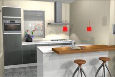 1000 images about 3d keukenontwerpen on pinterest van for Ontwerp je keuken in 3d