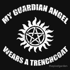 Supernatural Castiel Guardian Angel