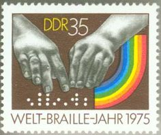 1975 Germany International Braille
