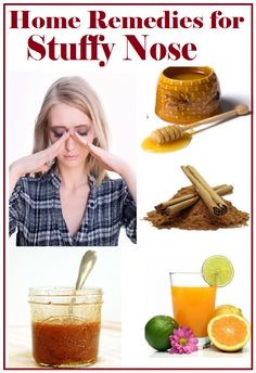 Remedies for stuffy nose! If you struggle like me, I know for a fact some of these work!