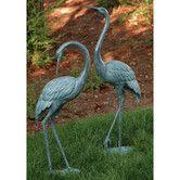 Found it at Wayfair - Medium Garden Crane Pair Statue