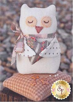 Bitty Owl Pincushion Pattern