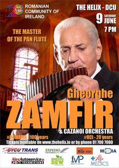 The amazing Zamfir in concert!