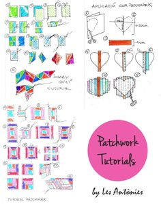 #Patchwork #tutorial #quilt #blog