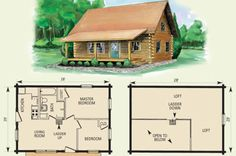 apartments, Small Log Cabin Homes Floor Plans Home With Lo House Loft Tiny Lake 2430 24 By And Basement Free small cabin floor plans with loft Plans Loft, Cabin Plans With Loft, Small Cabin Plans, Loft Floor Plans, Log Cabin Floor Plans, House Plan With Loft, Cabin Loft, Log Cabin Homes, Small House Plans