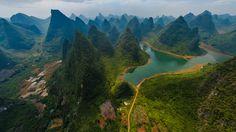 Guilin and Lijiang River National Park, - Google keresés