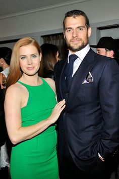 Henry Cavill News: Henry with Amy Adams. Henry Attends W Magazine Party In Hollywood