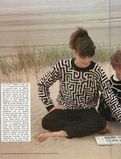 Le blog des Centidéalistes - collectif des fans du magazine 100 idées Pulls, Blog, Fans, Men Sweater, Magazine, Sweaters, Vintage, Crochet, Learn How To Knit