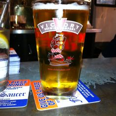 Victory Brewing Company Summer Love Ale available on tap