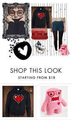 """Nerd"" by truquesdemeninas on Polyvore featuring moda Nerd, Fashion Looks, Polyvore, Shopping, Otaku, Geek"