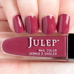 Charissa - Classic with a Twist   Julep   Charissa   Color description: Mineral Red Crème