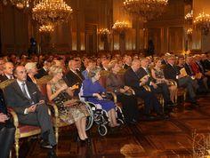 Oct 24 - Prince Lorentz, Princess Astrid, Queen Fabiola, Queen Paola, King Albert, Prince Philippe, Princess Mathilde, Prince Laurent & Princess Claire of Belgium at the concert of 'Festival van Vlaanderen'