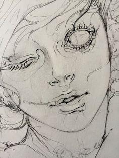 Best 10 Cat General NekoshowguN (Neko Showgun) 님 Art Drawings Sketches, Cool Drawings, Sketch Art, Drawings Of Men, Easy Sketches To Draw, Anime Sketch, Pencil Drawings, Art And Illustration, Arte Sketchbook