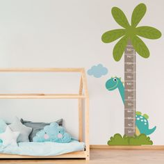 Baby G, Baby Kids, Dinosaur Room Decor, Baby Room, Disney, Toddler Bed, Wall, Furniture, Babies Rooms