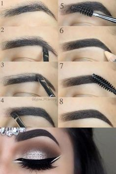 Make Up; Look; Make Up Looks; Make Up Augen; Make Up Prom;Make Up Face; Makeup Tricks, Eyebrow Makeup Tips, Diy Makeup, Makeup Inspo, Makeup Tools, Makeup Inspiration, Beauty Makeup, Makeup Artists, Makeup Eyebrows