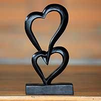 Linking Hearts from @NOVICA, They help #artisans succeed worldwide.$37.99 sculpture.novica.com