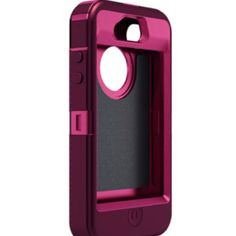 iPhone 4s Otter Box Defender Case (Plum/Pink)