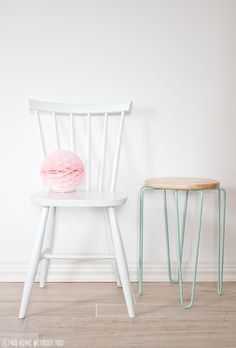 DIY PAINTED CHAIRS ~ NO HOME WITHOUT YOU