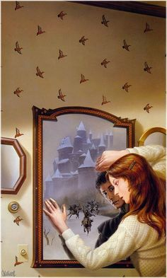 Mordant's Need - The Mirror of Her Dreams (1986)  Cover by Michael Whelan.  It is a good book and a great piece.