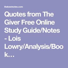 an analysis of the novel the giver by lois lowry The paperback of the the giver by lois lowry at barnes & noble  analysis of the giver: 170:  to craft this wonderful work of a novel the giver is about a.