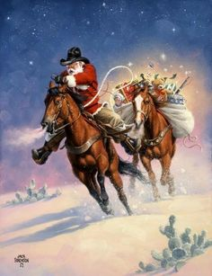 Cowgirl Cravings. Santa's Big Ride - By Jack Sorenson