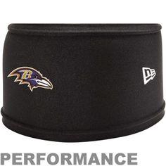 New Era Baltimore Ravens NFL Training Skull Performance Headband - Black