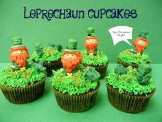 Sugar Swings! Serve Some: leprechaun cupcakes