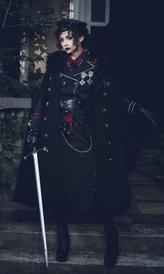 Your Highness -The Oath of the Judge~ Military Lolita OP Dress 2019 Version Lolita Fashion, Gothic Fashion, Estilo Lolita, Mode Costume, Real Costumes, Cool Outfits, Fashion Outfits, Character Outfits, Lolita Dress
