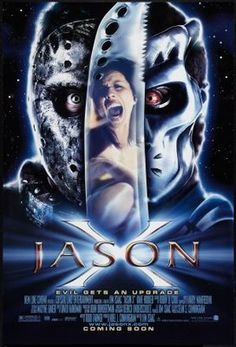 Jason X (2001) movie #poster, #tshirt, #mousepad, #movieposters2